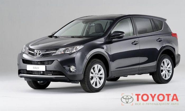 Toyota Rav4 2014 года