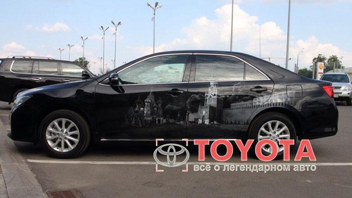 Тюнинг Тойота Камри 50: улучшение мечты