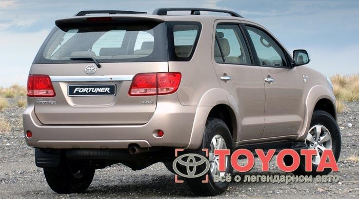 Тойота Фортунер: 2005 г