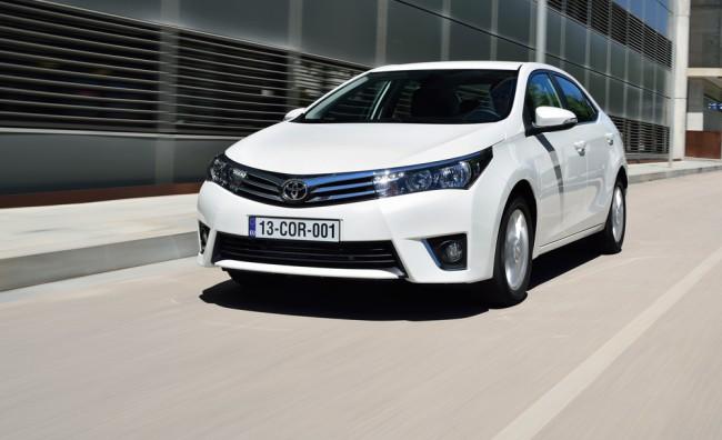 Встречайте новая Toyota Corolla 2015
