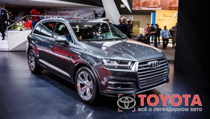 Audi loads 2016 Q7 with all the tech