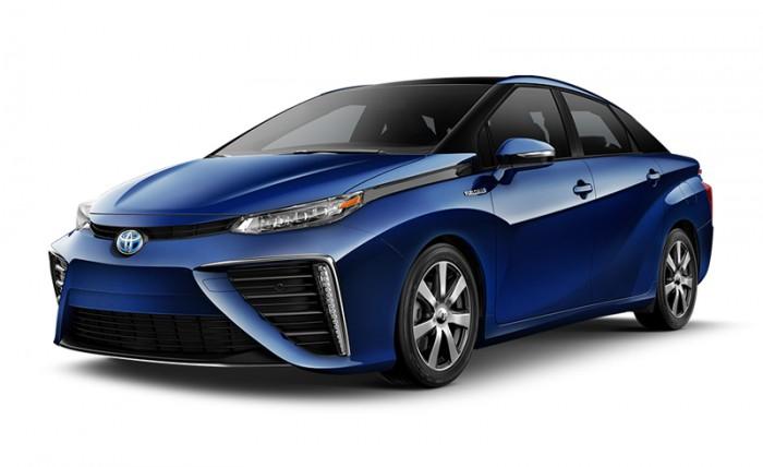 В Японии в продажу поступил первый автомобиль Toyota Mirai с водородным двигателем