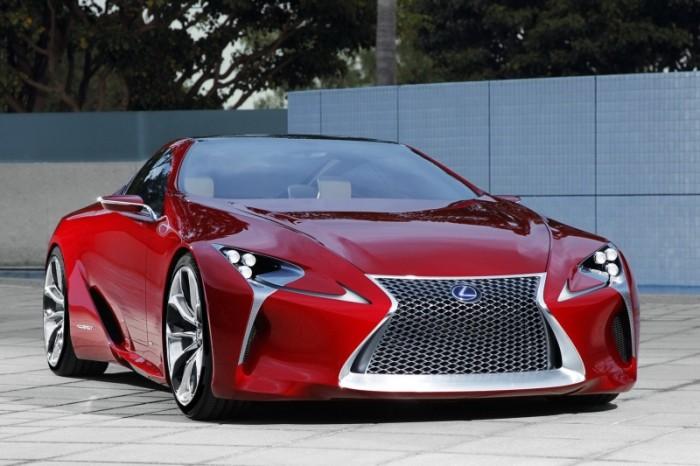 Корпус Lexus LFA сделан из углепластика