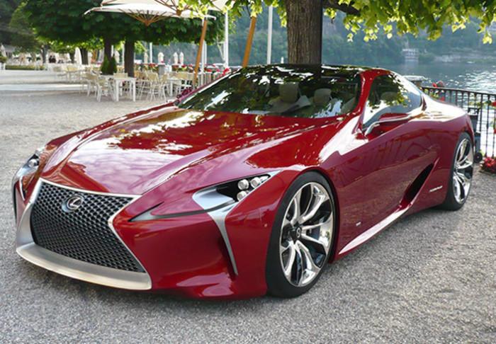 Кузов авто -Lexus-LF-LC также потерпел изменения