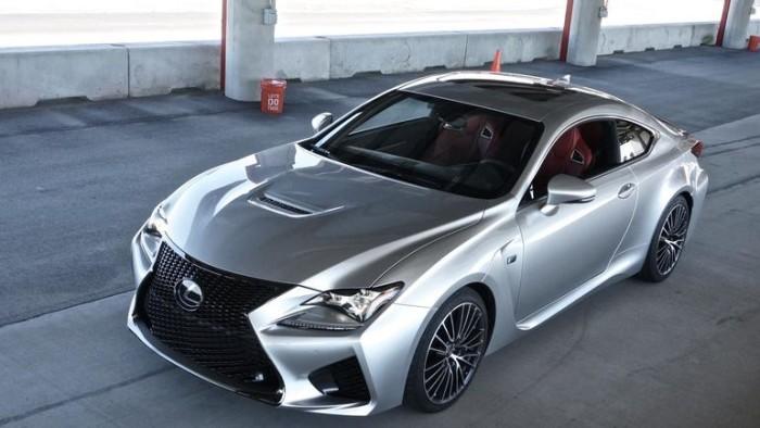 Дизайнерские решения и размеры автомобиля Lexus RC F