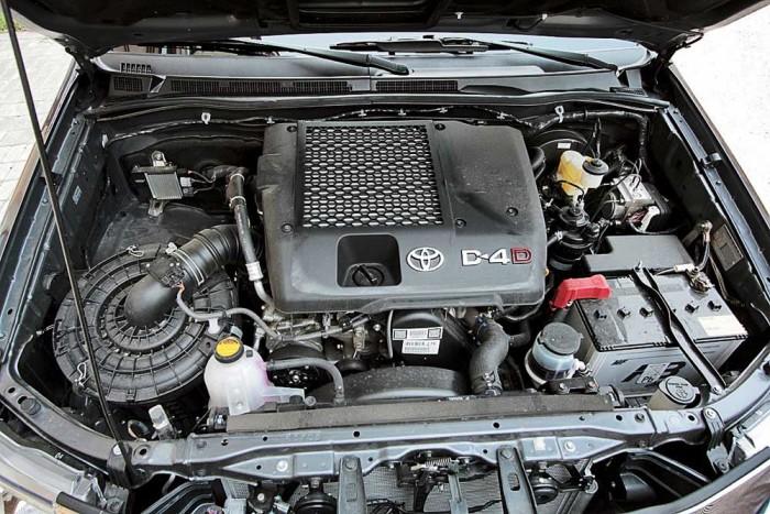 Под капотом Toyota Hilux