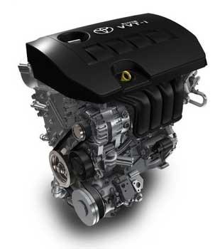 Двигатель Тойота Королла 2008