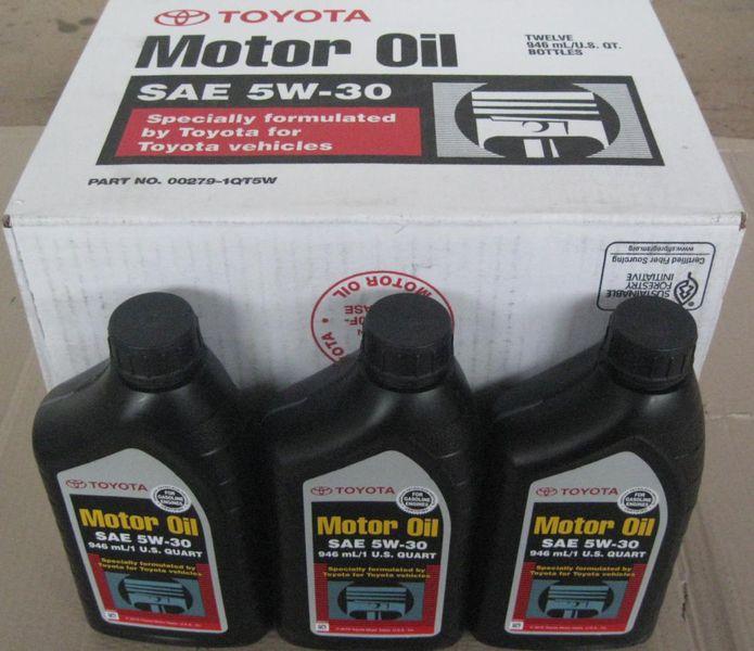 Оригинальное масло Тойота 5w30