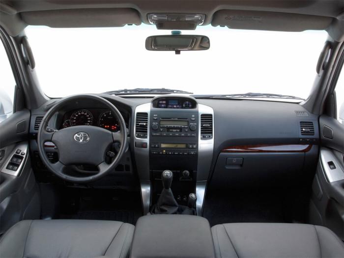 Интерьера Toyota Prado 120