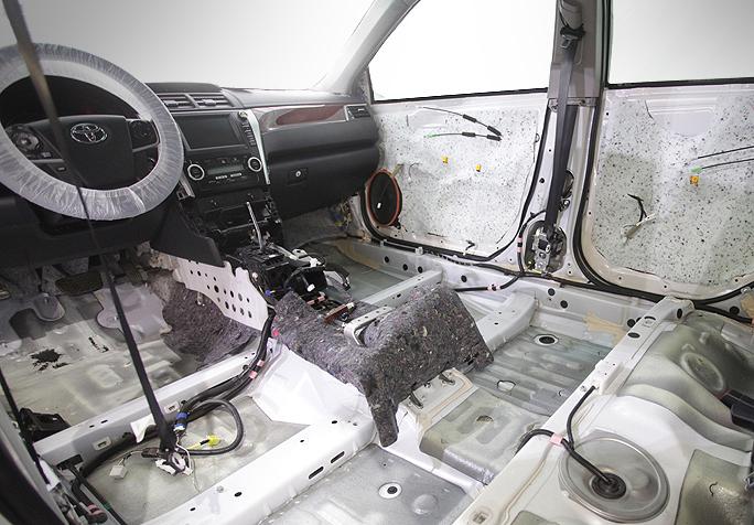 Шумоизоляция Toyota Camry v50