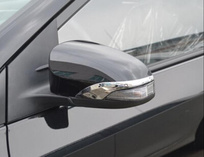 Накладки на боковые зеркала хром Тойота Камри V55