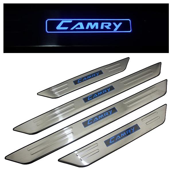 LED накладки на пороги
