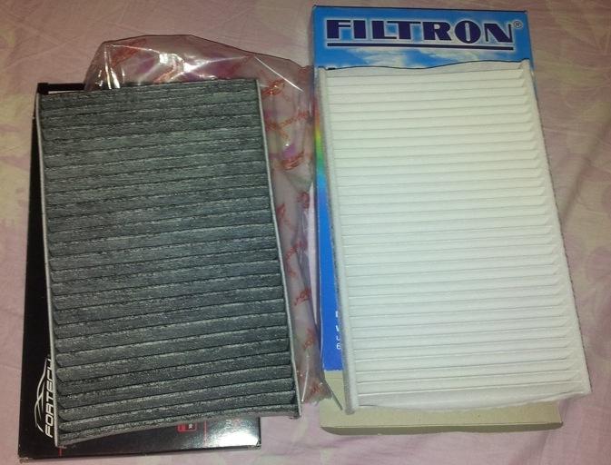 Угольный и бумажный универсальный фильтр FILTRON