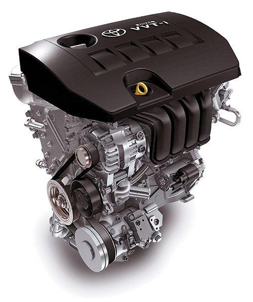 Расположение ремня и роликов на двигателе Тойота Королла