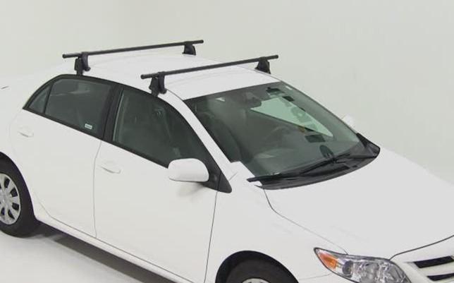 Тойота Королла: багажник на крышу