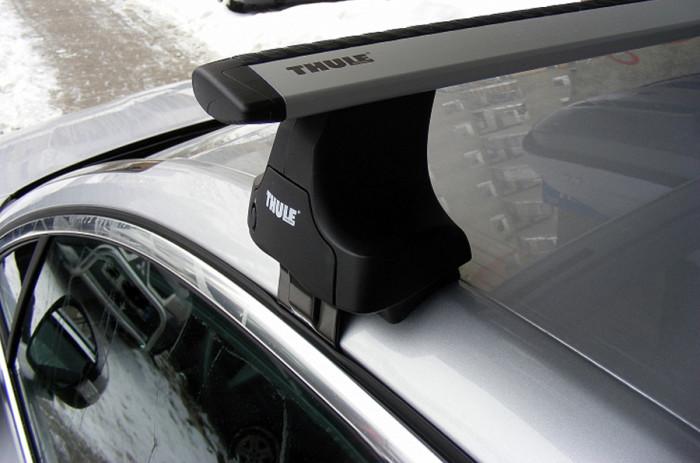 Багажник на гладкую крышу для Тойота Королла