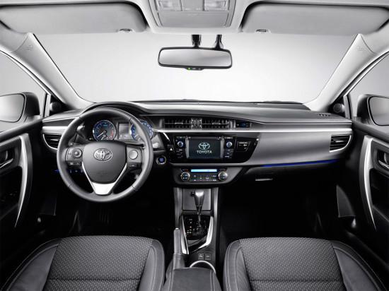 Тойота Королла 2015: интерьер