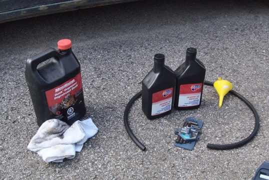 Инструменты для замены масла в АКПП